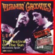 Album cover art for the aim release Live At The Festival Of The Sun by Flamin' Groovies