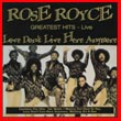 Album cover art for the aim release Love Don't Live Here Anymore by Rose Royce