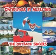 Album cover art for the aim release  Christmas In Australia by The Outback Singers