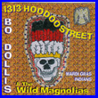 Album cover art for the aim release 1313 Hoodoo Street by Bo Dollis & The Wild Magnolis