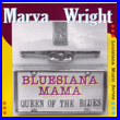 Album cover art for the aim release Bluesiana Mama by Marva Wright